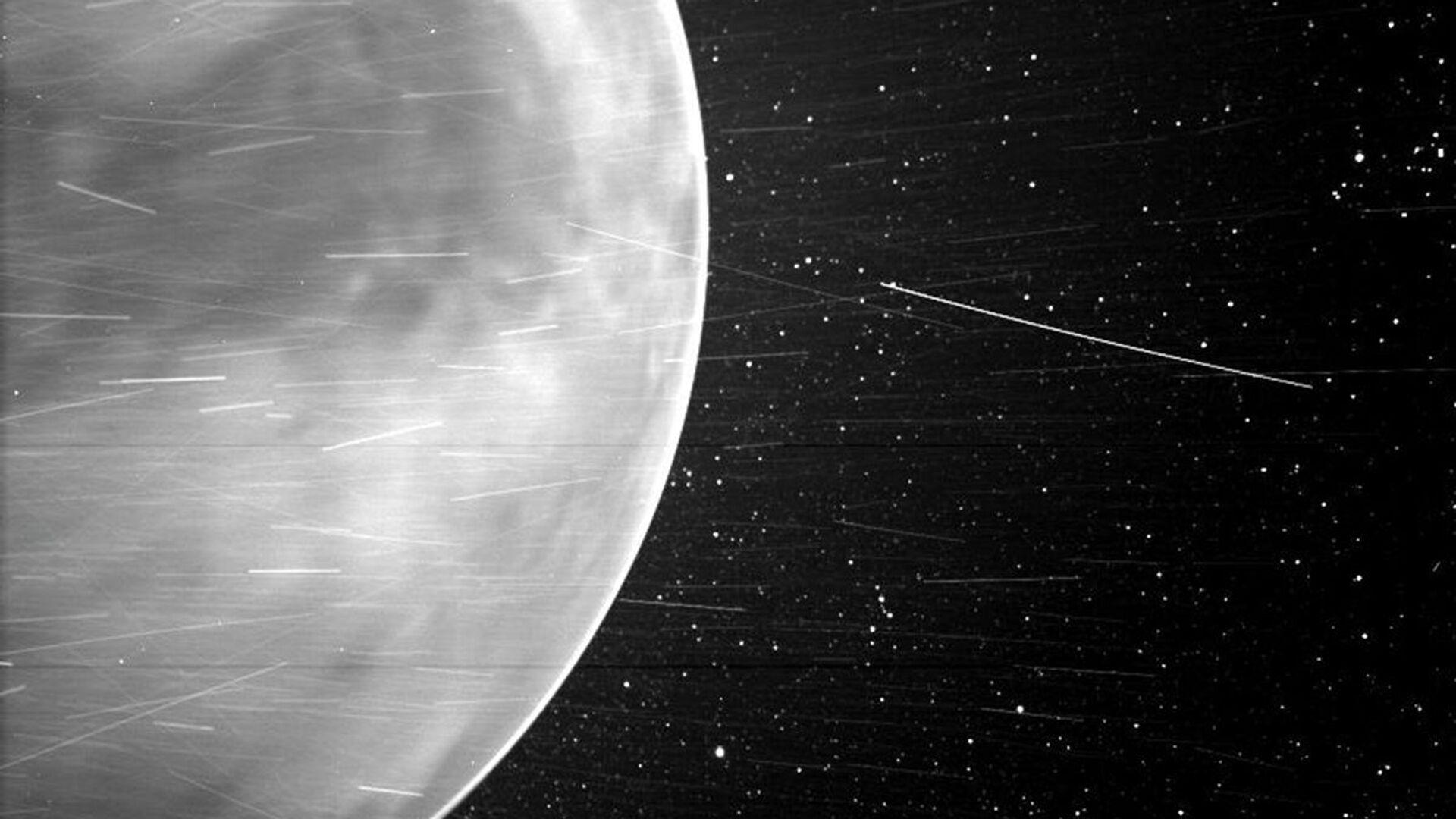 Un'immagine di Venere, fatta dallo Wispr della sonda solare Parker della NASA nel luglio 2020 - Sputnik Italia, 1920, 25.02.2021