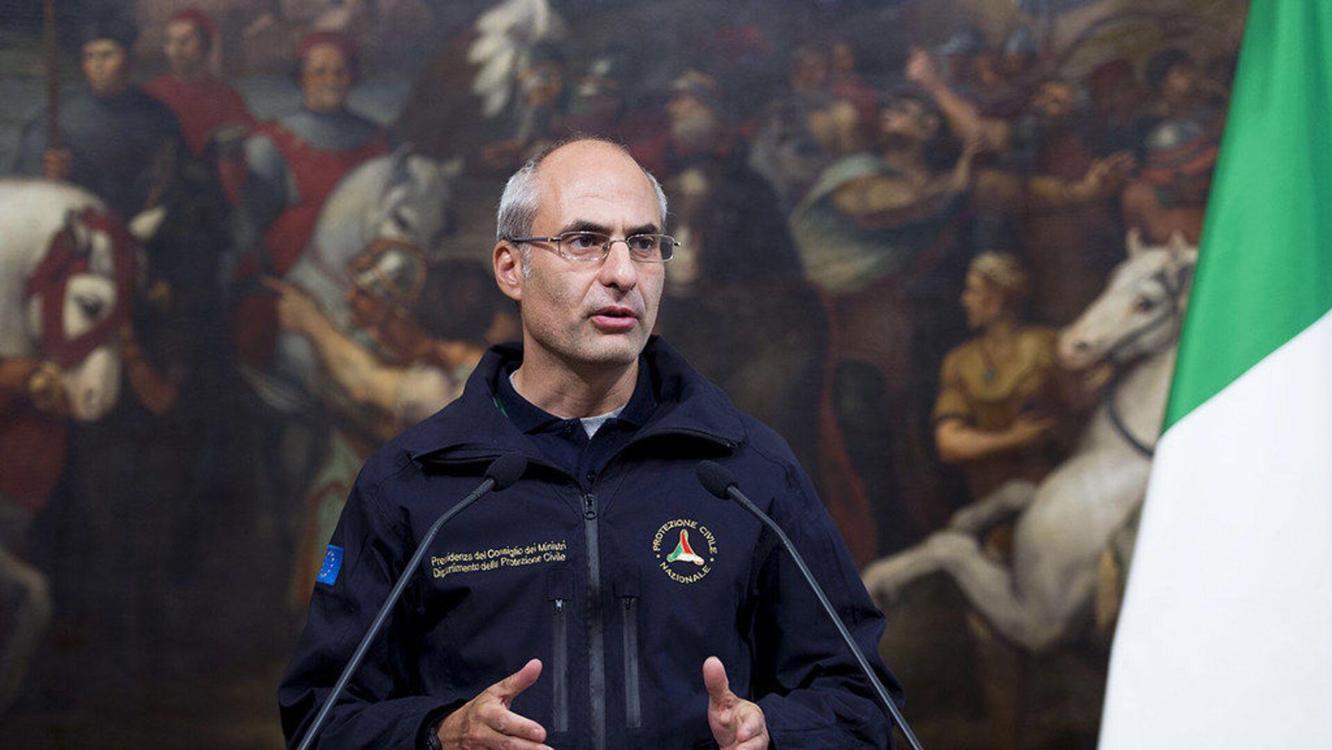 Fabrizio Curcio, nuovo capo del Dipartimento della Protezione Civile - Sputnik Italia, 1920, 29.03.2021