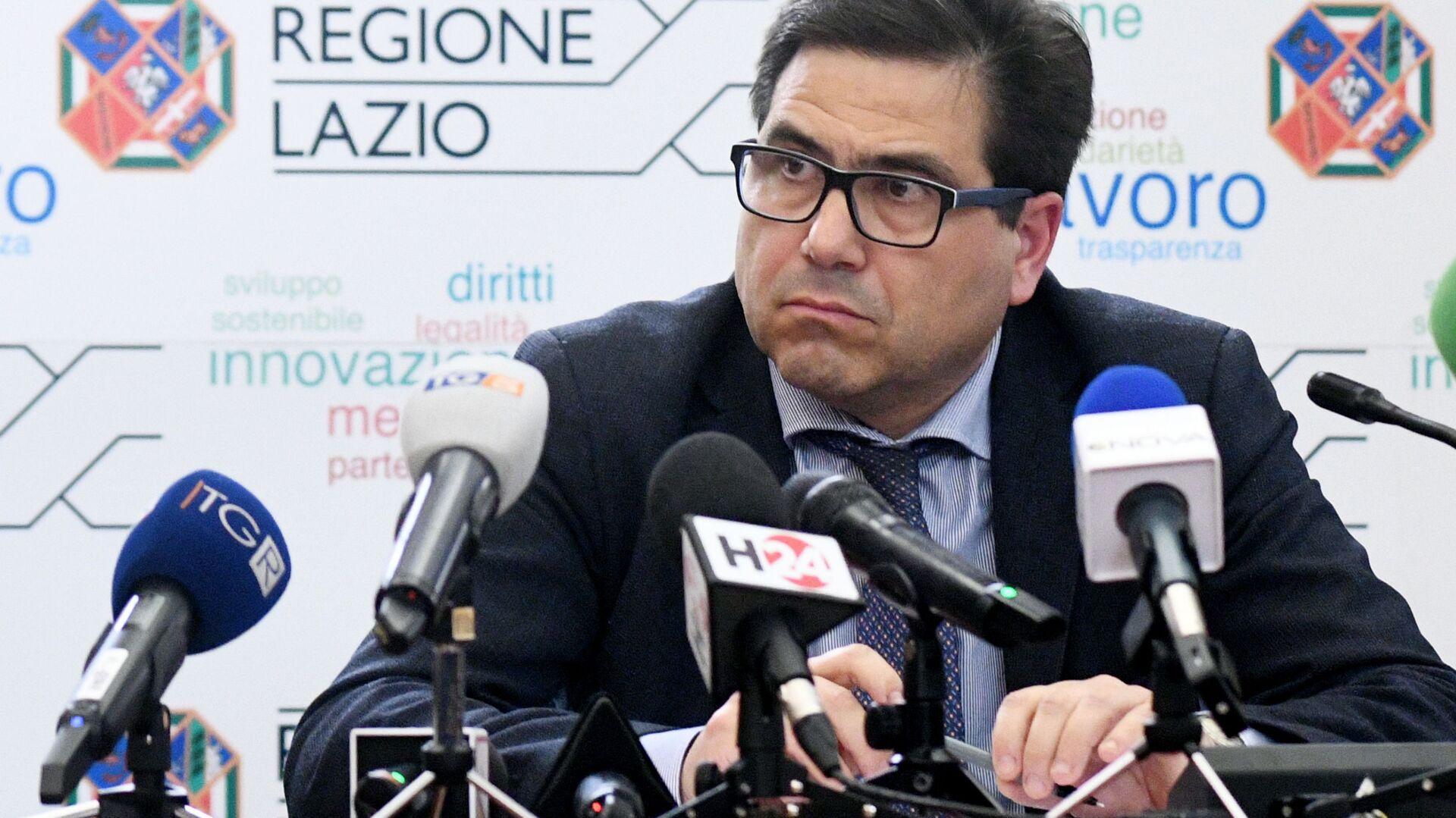 Alessio D'Amato assessore sanità regione Lazio - Sputnik Italia, 1920, 22.05.2021