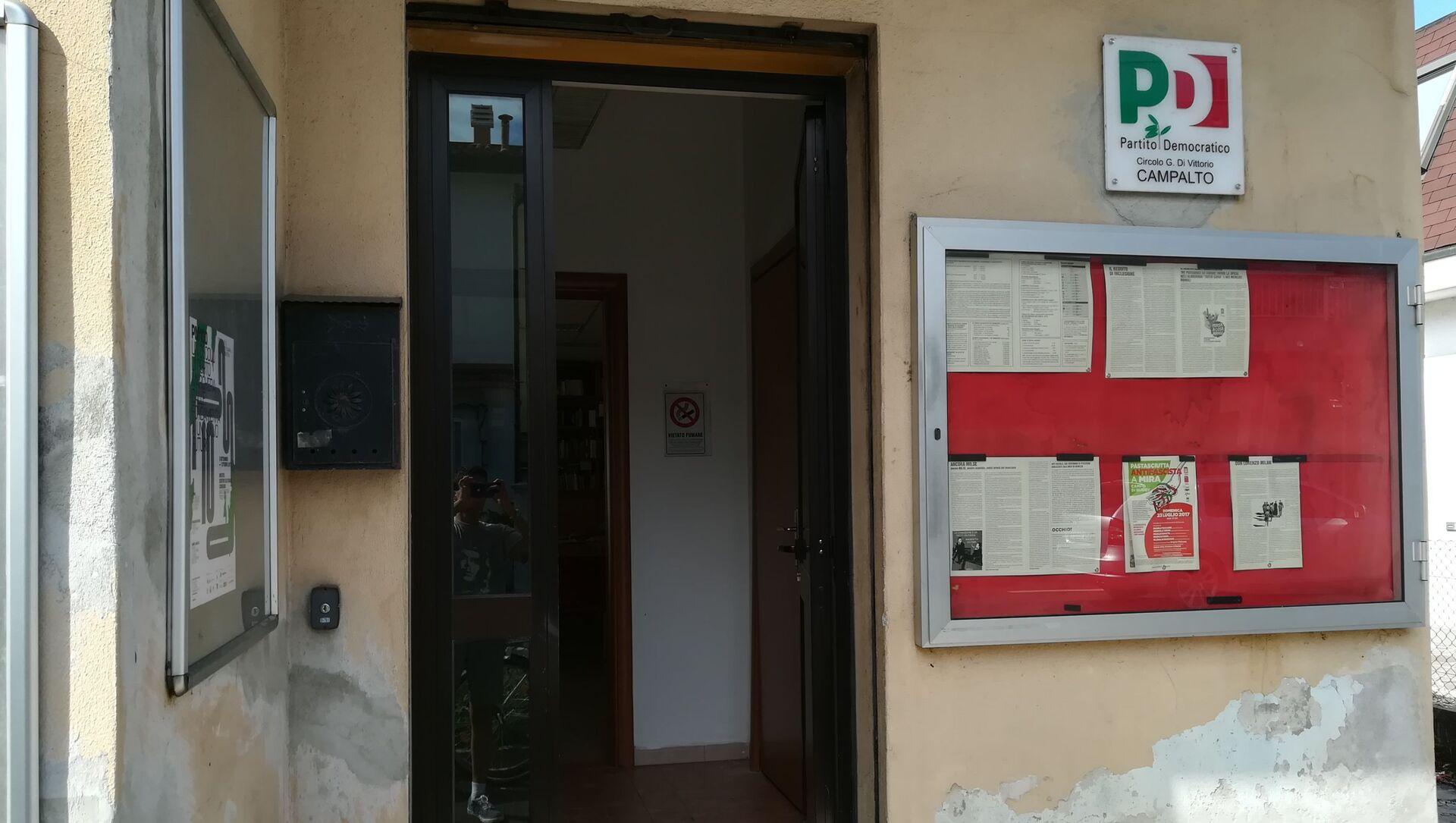 Sede del Partito PD italiano - Sputnik Italia, 1920, 16.04.2021