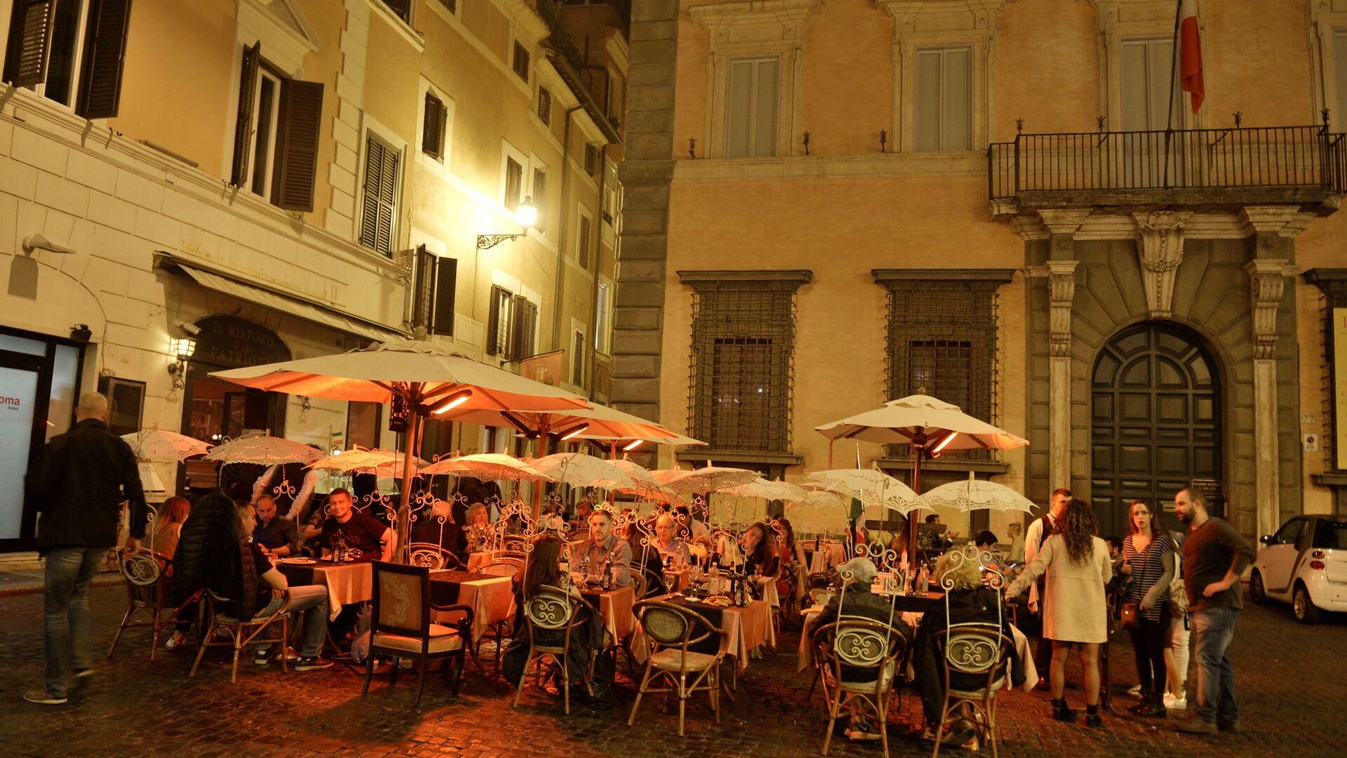 Estate 2019, serata nel centro di Roma - Sputnik Italia, 1920, 11.07.2021