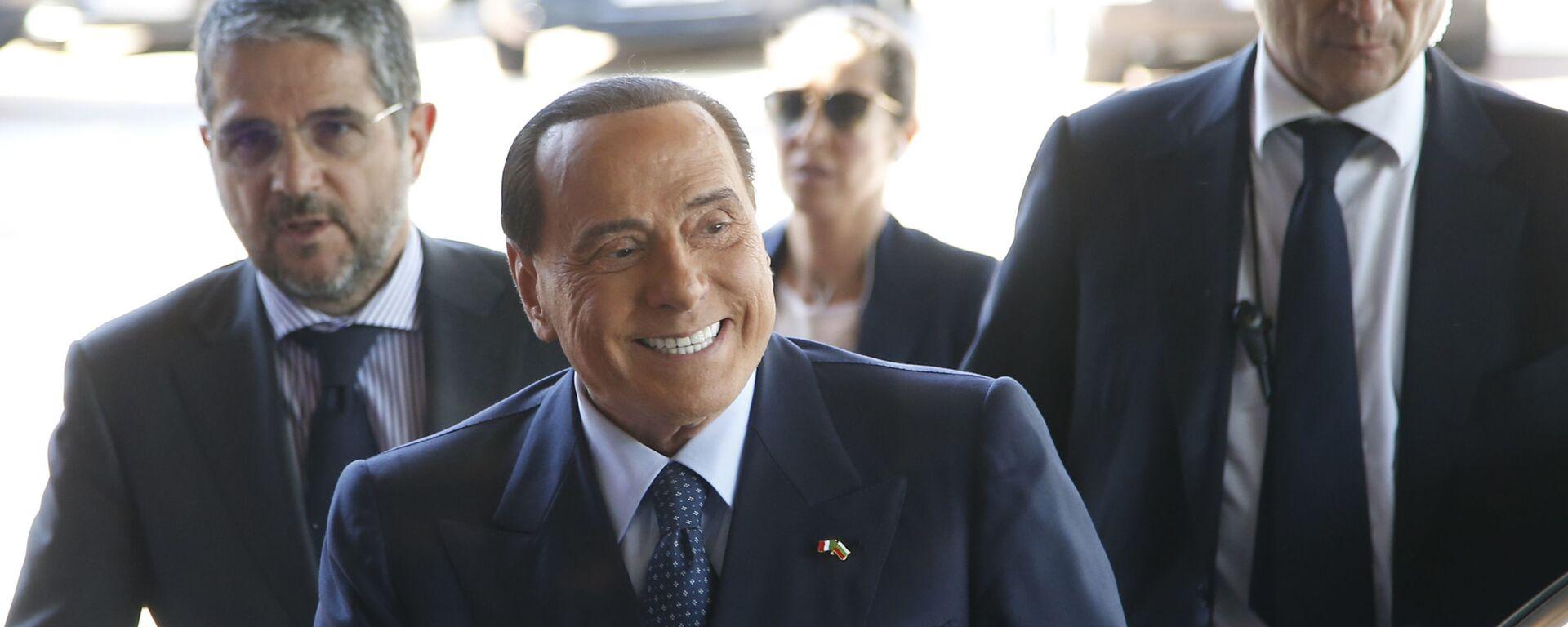 Silvio Berlusconi - Sputnik Italia, 1920, 07.04.2021