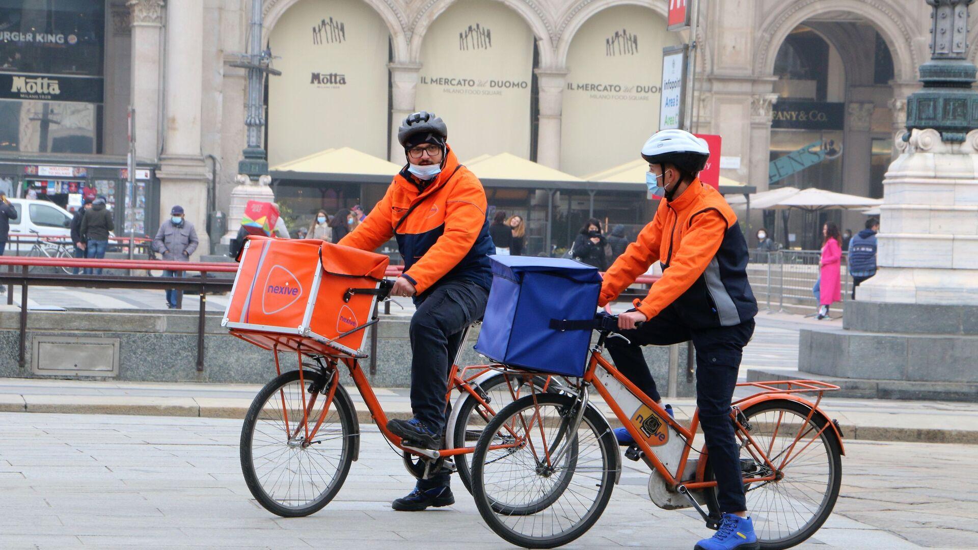 I rider a Milano, Italia - Sputnik Italia, 1920, 13.09.2021
