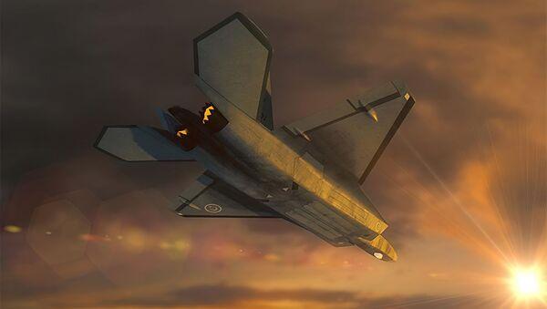 Concetto del primo caccia turco di quinta generazione - Sputnik Italia