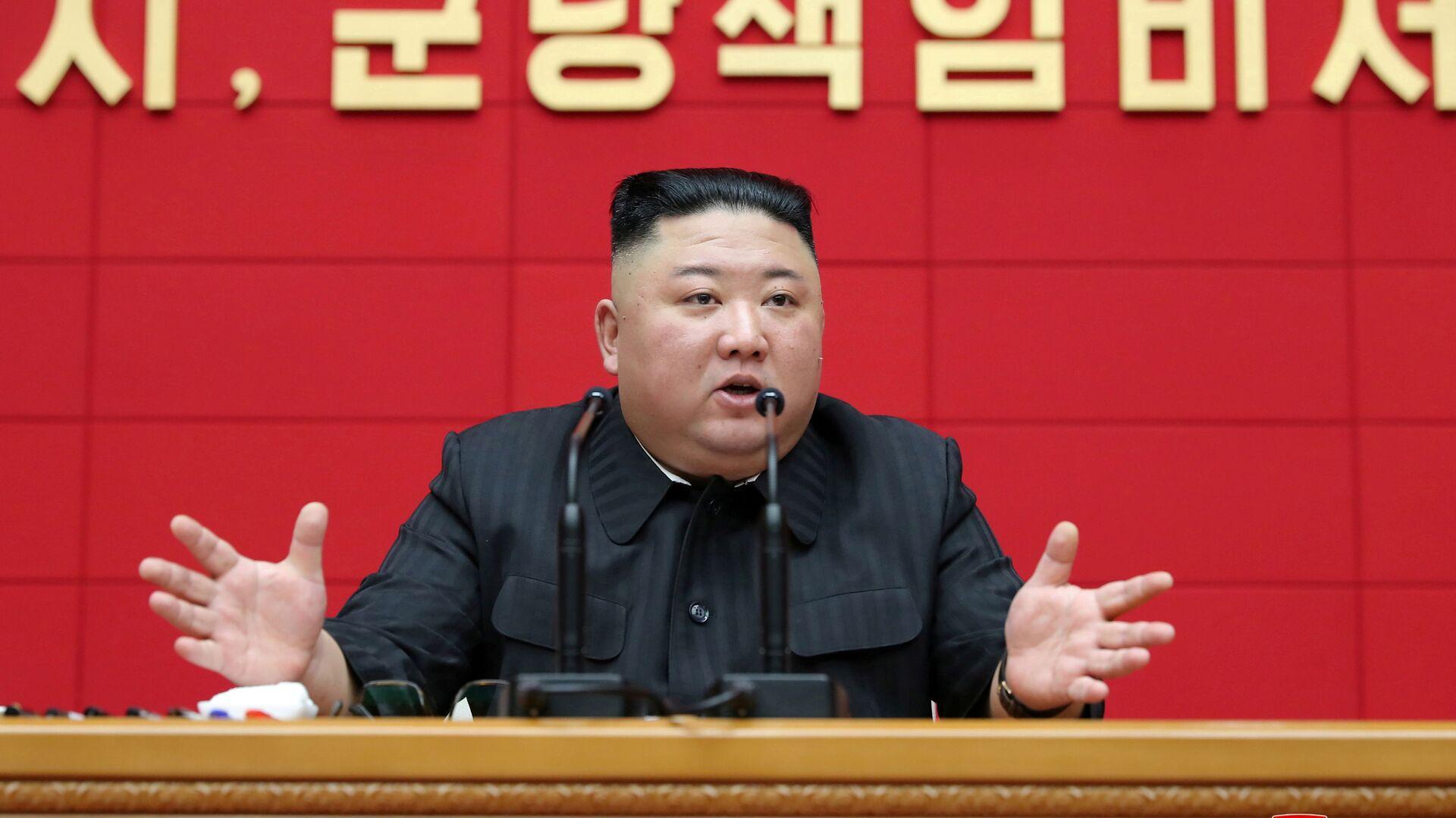 Il leader nordcorenano Kim Jong Un  - Sputnik Italia, 1920, 22.05.2021