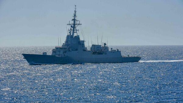 La fregata spagnola Cristobal Colon - Sputnik Italia