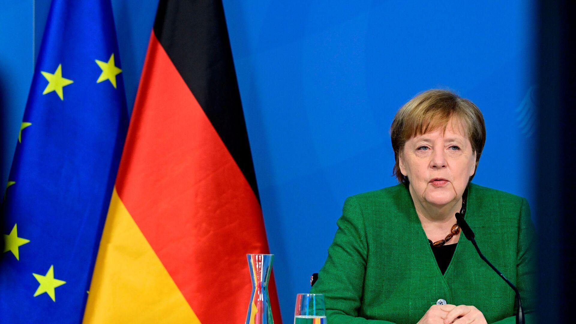 Angela Merkel - Sputnik Italia, 1920, 25.08.2021