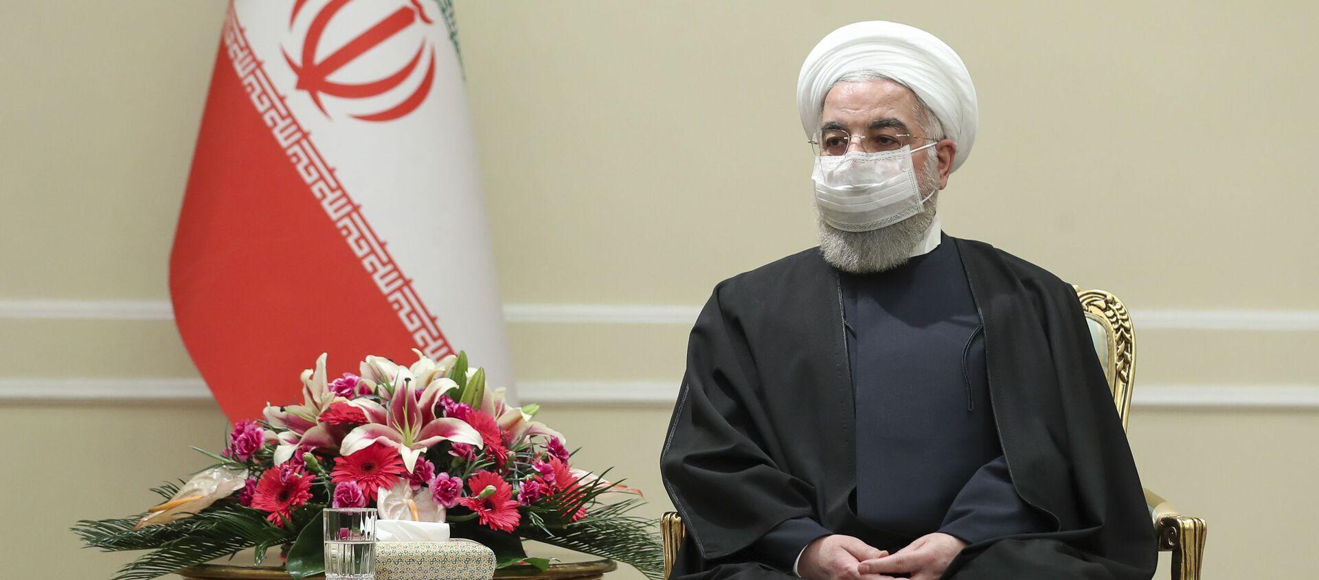 Hassan Rouhani - Sputnik Italia, 1920, 02.04.2021