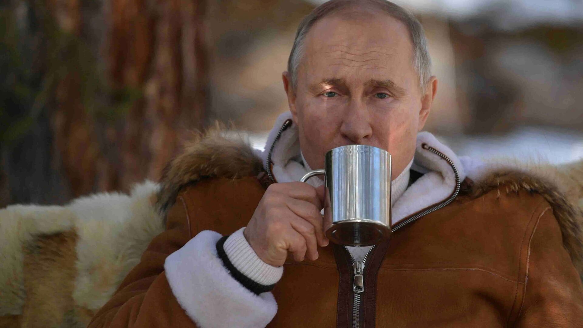 Riposo di Putin e ministro Difesa Shoigu in Siberia - Sputnik Italia, 1920, 16.07.2021