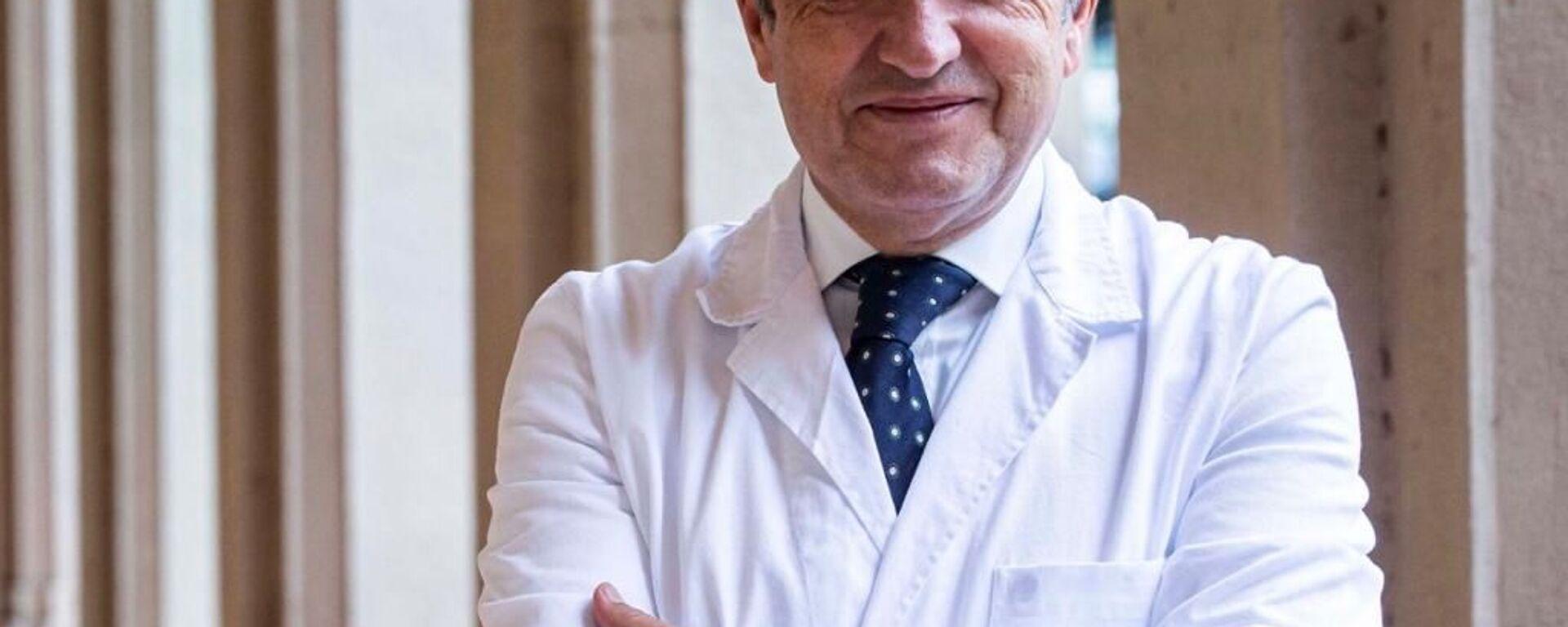 Francesco Vaia, direttore sanitario dell'Istituto Spallanzani di Roma - Sputnik Italia, 1920, 16.04.2021