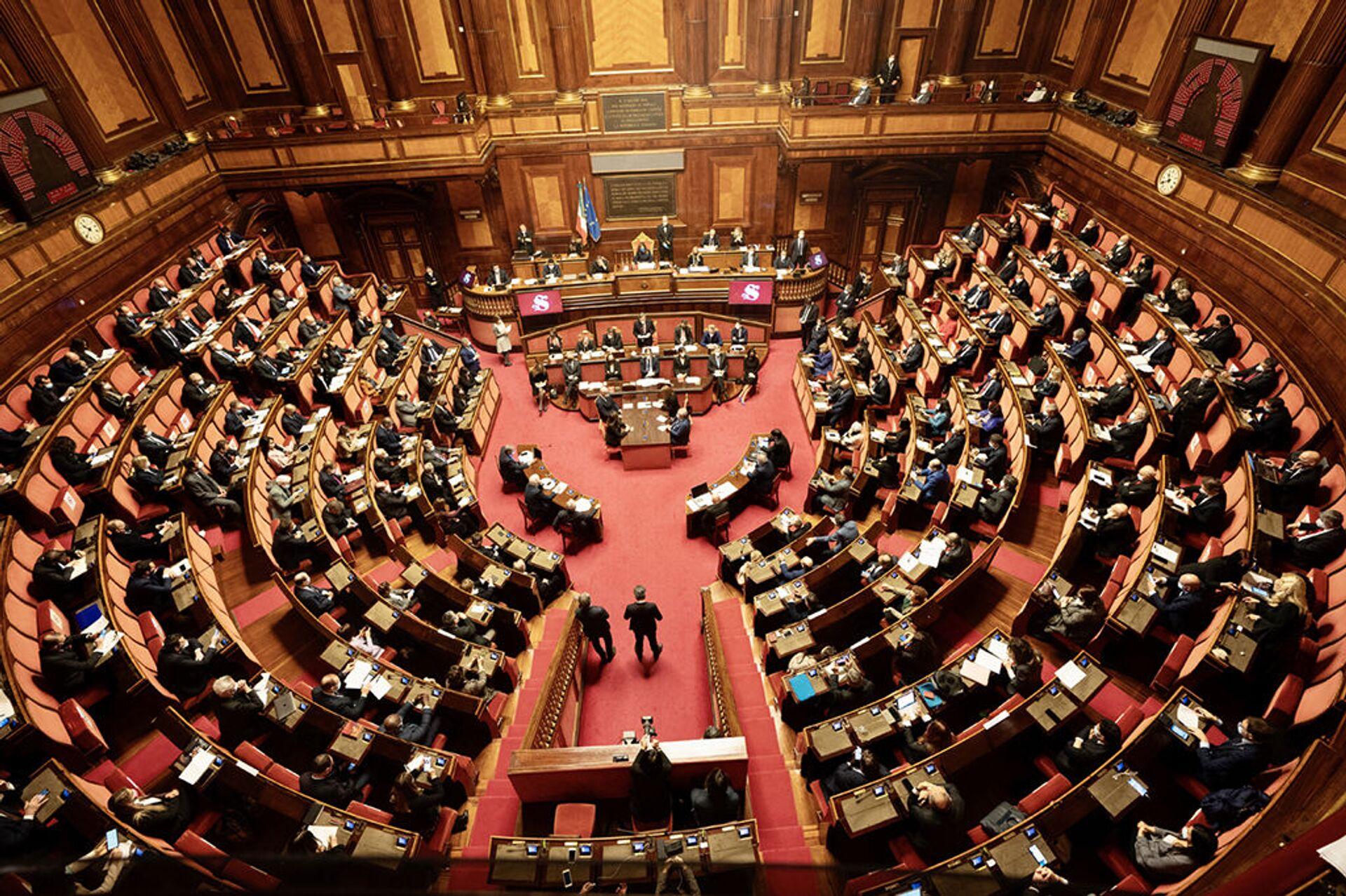 Sondaggi politici, PD vola e recupera il consenso perduto, male la Lega - Sputnik Italia, 1920, 23.03.2021