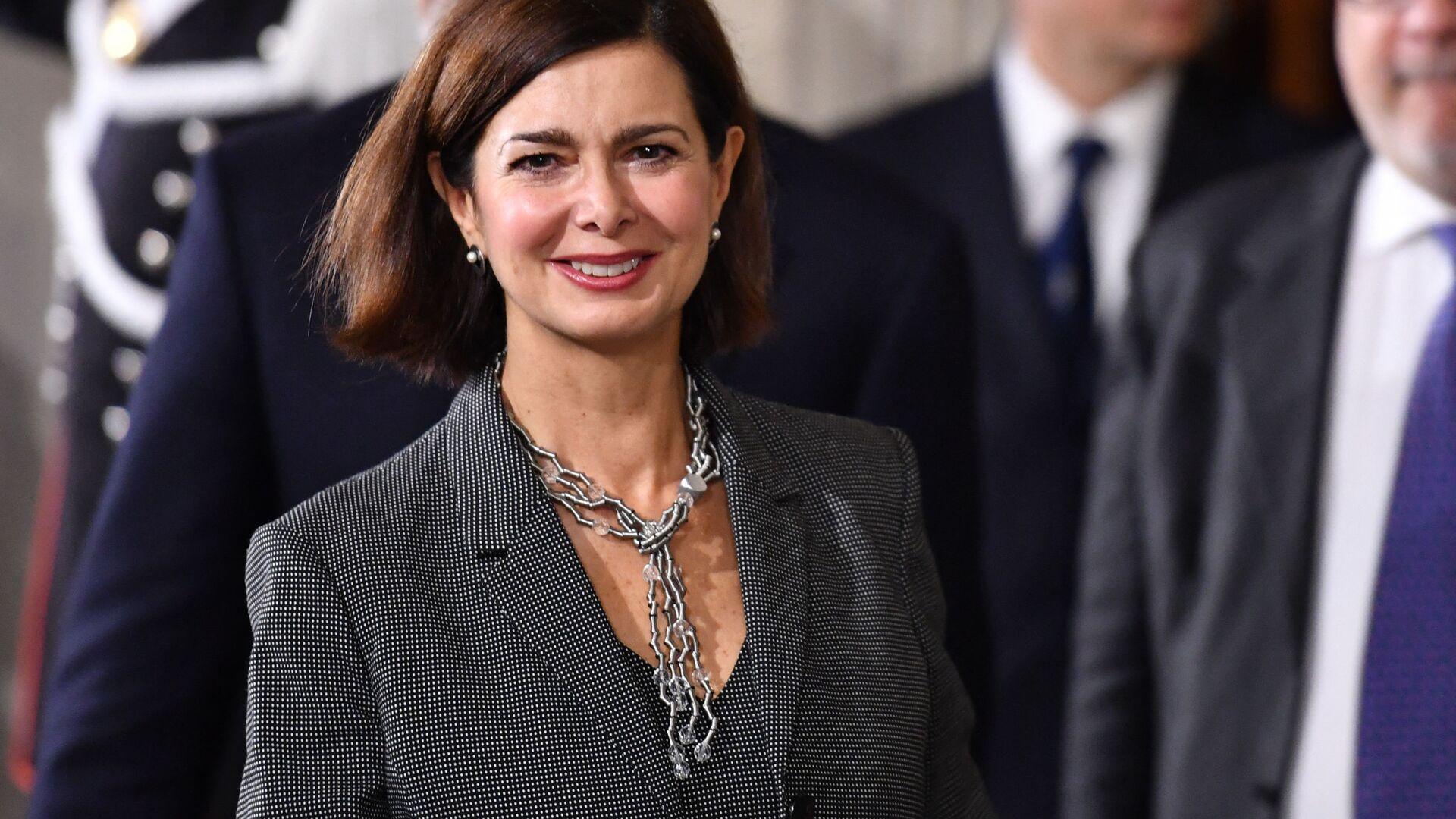 Laura Boldrini, politica italiana, già funzionaria internazionale delle Nazioni Unite e Presidente della Camera dei deputati - Sputnik Italia, 1920, 02.07.2021