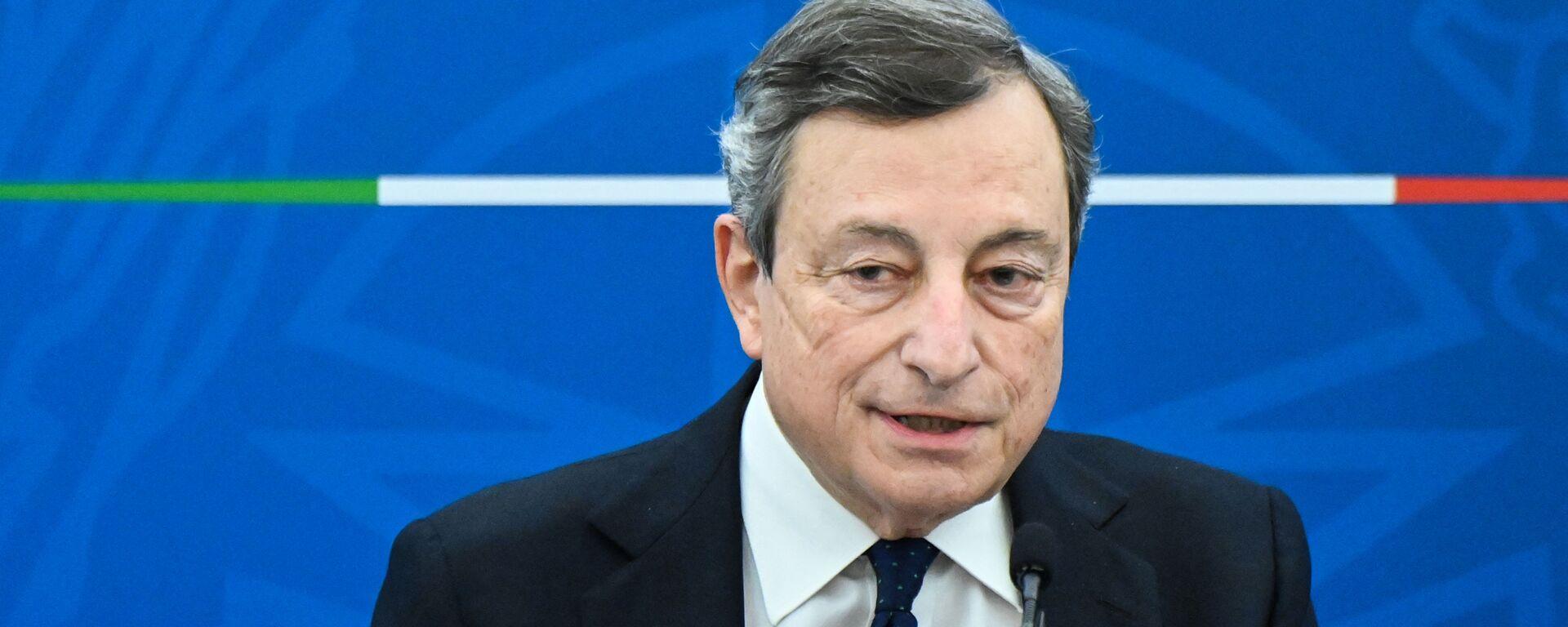 Mario Draghi - Sputnik Italia, 1920, 31.03.2021