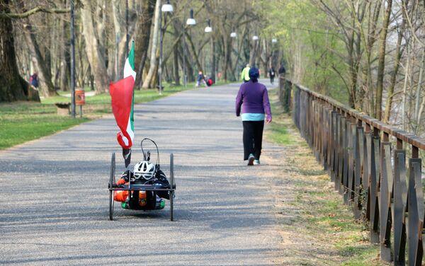 Un parco a Milano - Sputnik Italia