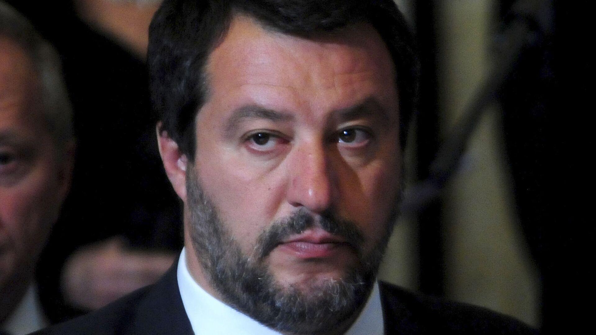 Matteo Salvini - Sputnik Italia, 1920, 14.10.2021