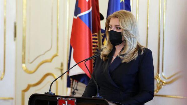 La presidente della Slovacchia Zuzana Caputova - Sputnik Italia