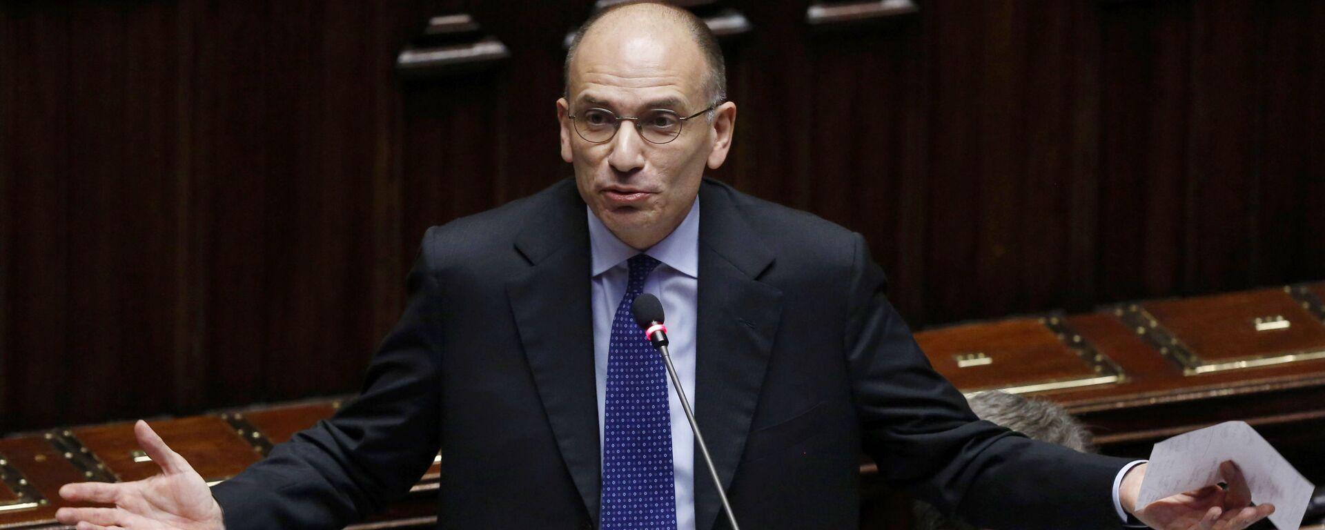 Enrico Letta, segretario del Partito Democratico - Sputnik Italia, 1920, 07.04.2021