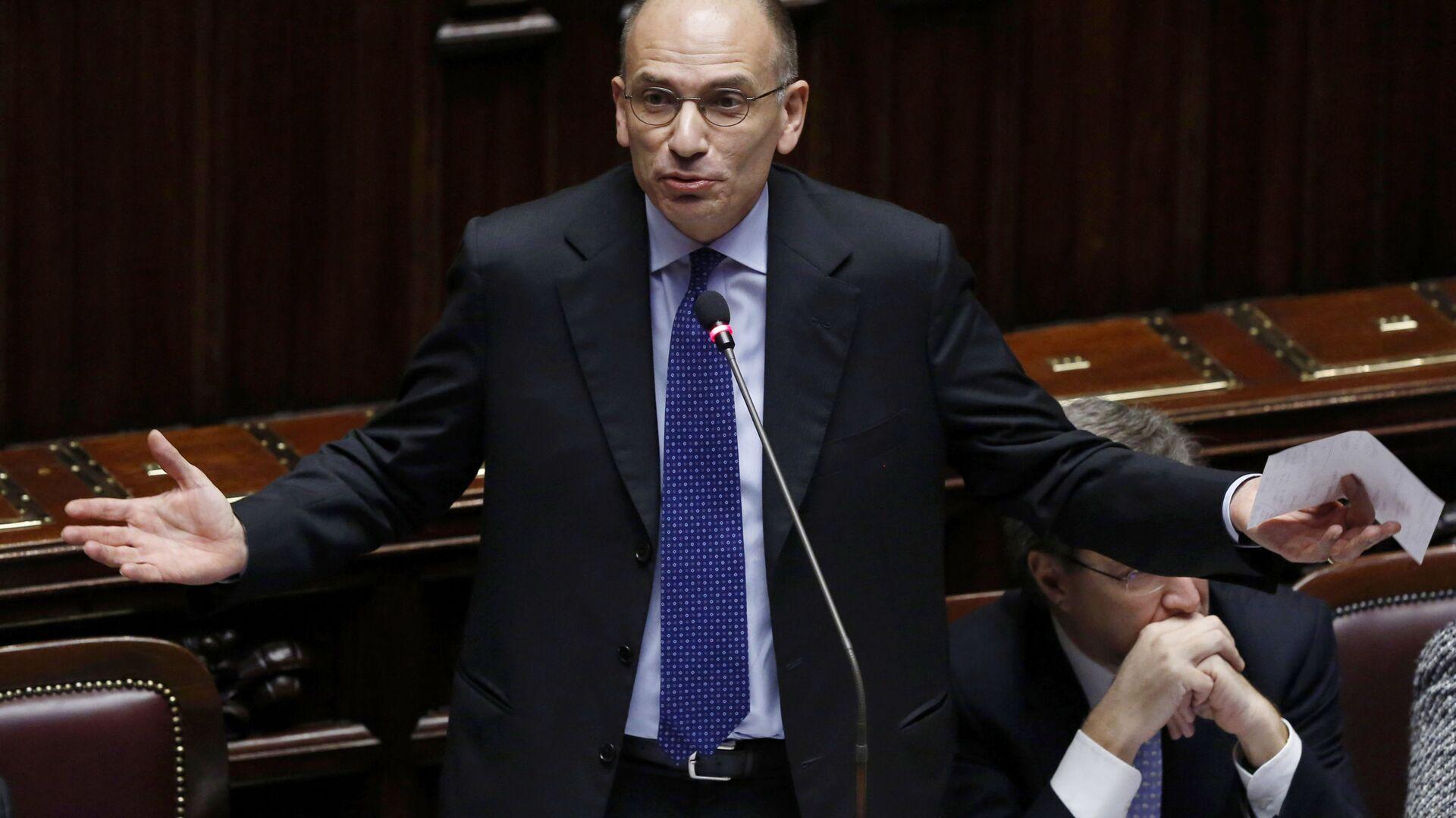 Enrico Letta, segretario del Partito Democratico - Sputnik Italia, 1920, 02.05.2021