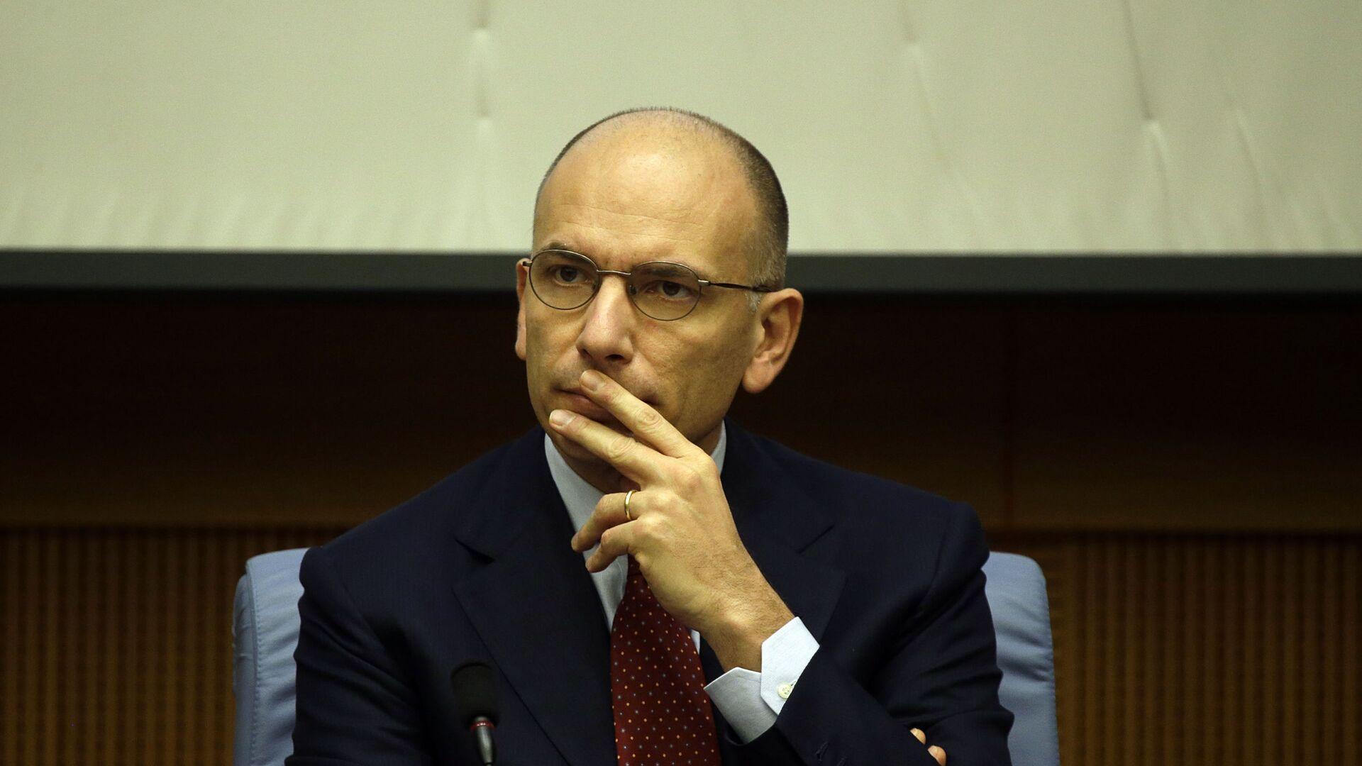 Enrico Letta, segretario del Partito Democratico - Sputnik Italia, 1920, 20.05.2021