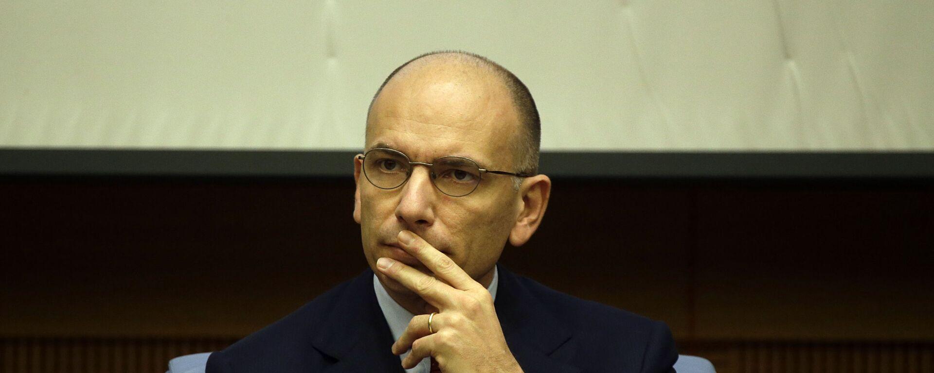 Enrico Letta, segretario del Partito Democratico - Sputnik Italia, 1920, 01.05.2021