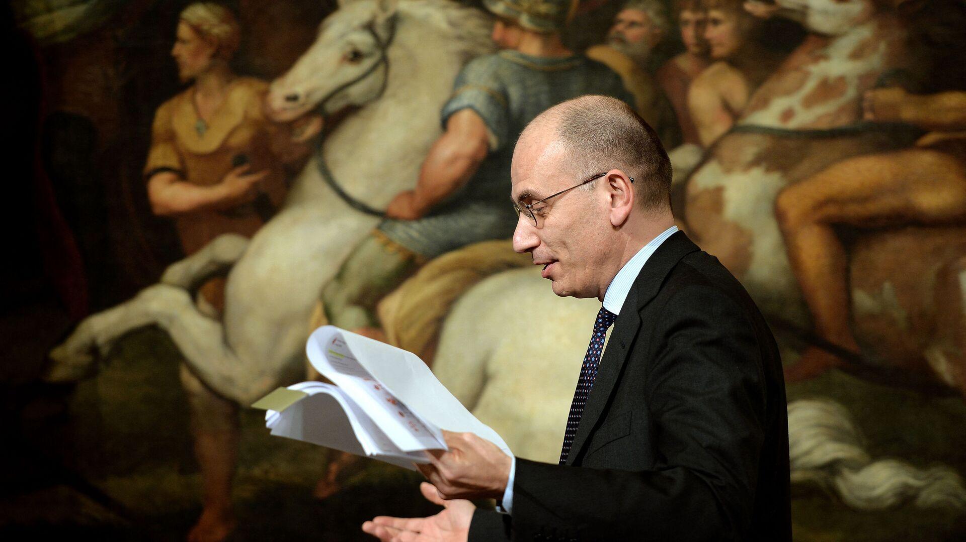 Enrico Letta, segretario del Partito Democratico - Sputnik Italia, 1920, 26.09.2021