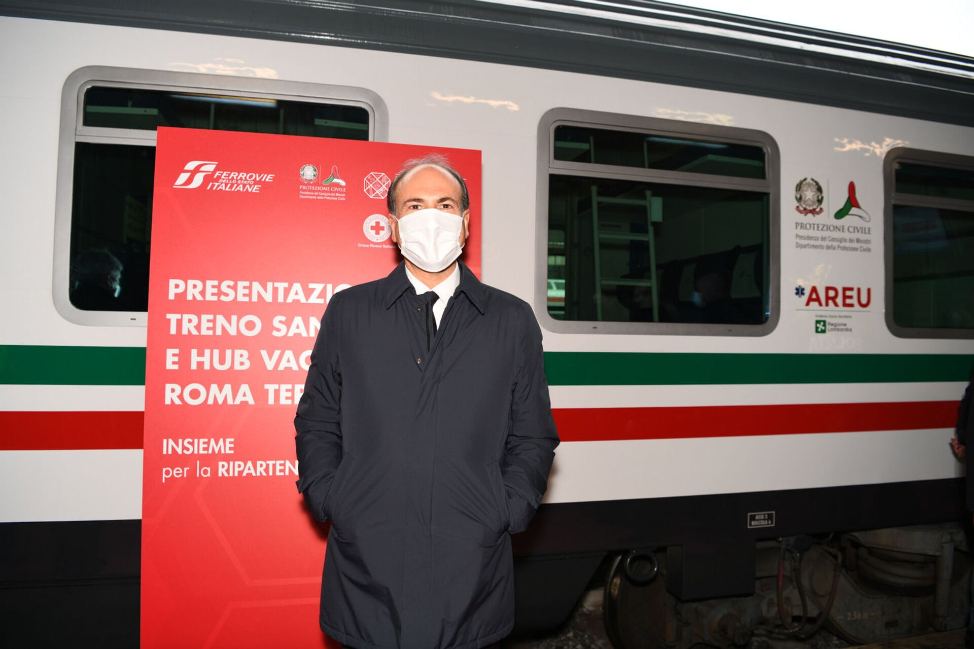 Gianfranco Battisti, AD Ferrovie dello Stato - Sputnik Italia, 1920, 18.05.2021