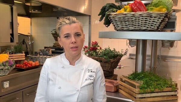 La chef Iside De Cesare del ristorante La Parolina - Sputnik Italia