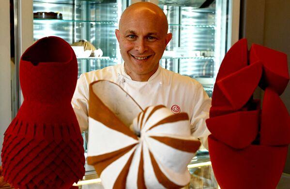 Le uova di Pasqua di cioccolato e pasticcere Walter Musco - Sputnik Italia