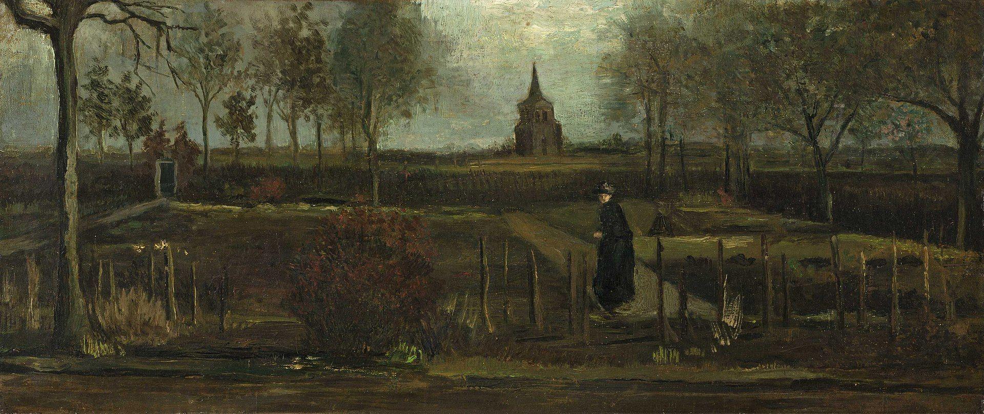 Giardino della canonica a Nuenen in primavera, Van Gogh  - Sputnik Italia, 1920, 18.05.2021