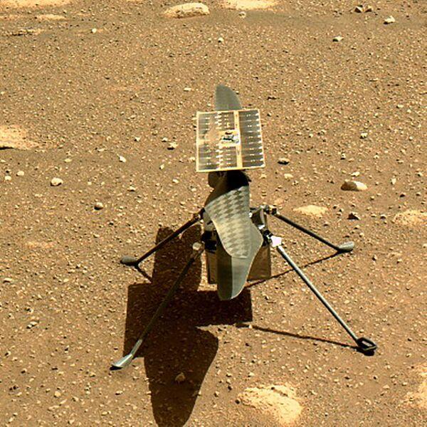 Uno scatto impressionante quello inviato dal suolo di Marte dal rover Perseverance, atterrato pochi giorni fa sul Pianeta Rosso - Sputnik Italia