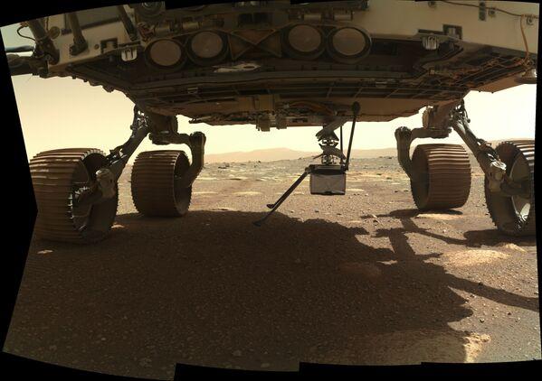 Il principale obiettivo di Perseverance è la ricerca di segni di vita antica su Marte - Sputnik Italia