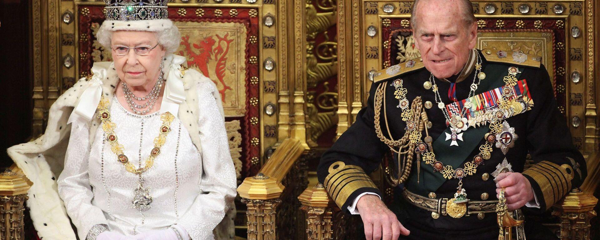 La regina Elisabetta e il principe Filippo - Sputnik Italia, 1920, 10.04.2021