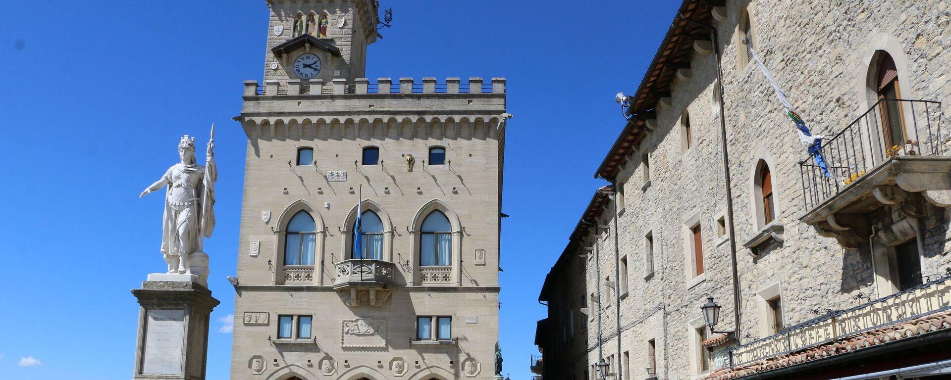 Palazzo pubblico di San Marino - Sputnik Italia, 1920, 03.10.2021