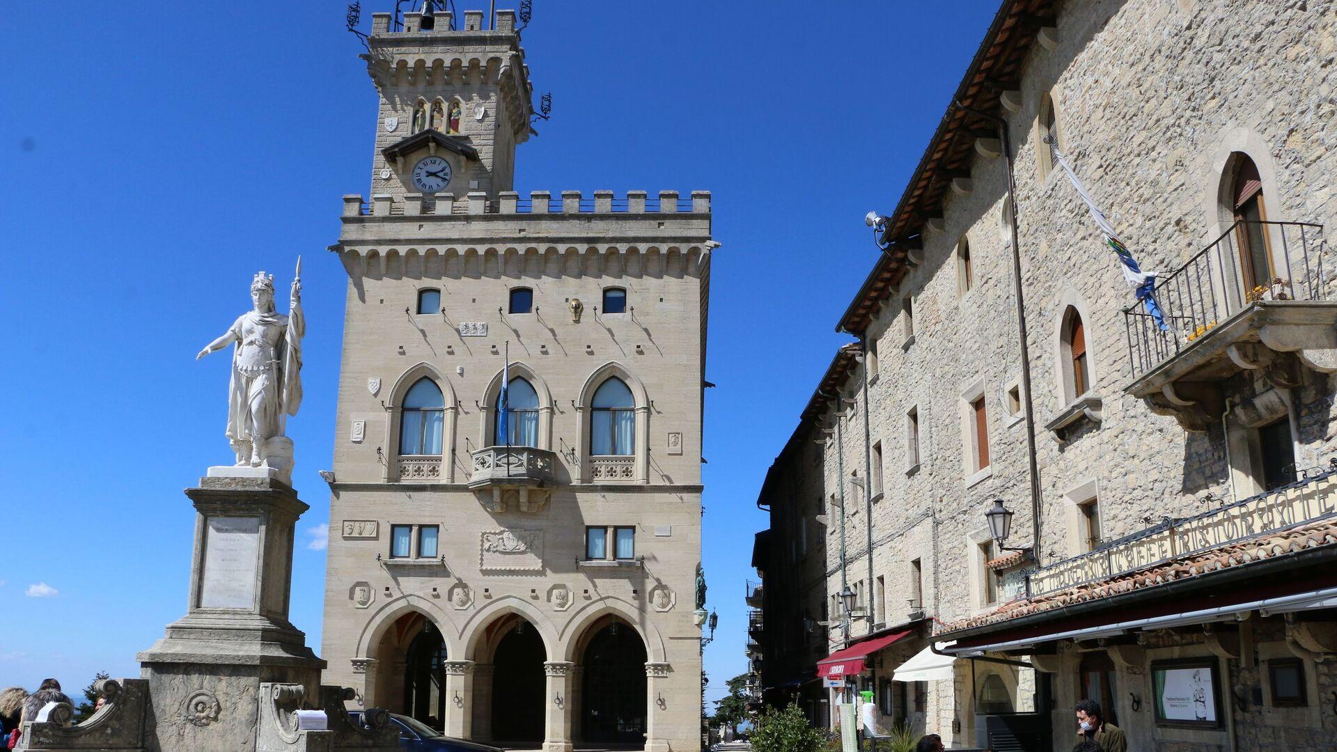 Palazzo pubblico di San Marino - Sputnik Italia, 1920, 27.04.2021