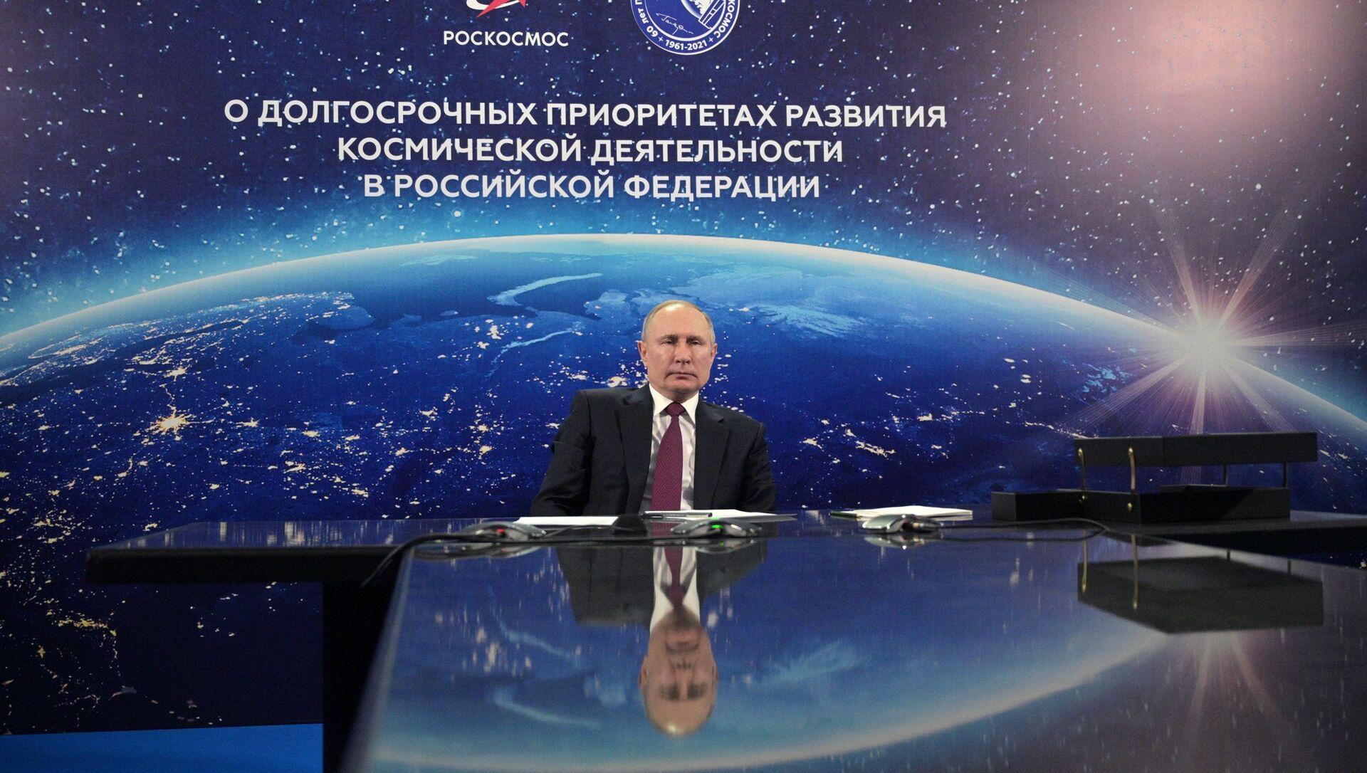 Vladimir Putin - Sputnik Italia, 1920, 12.04.2021