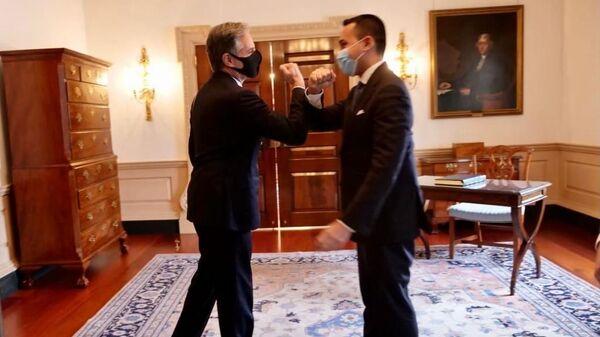 Incontro tra Luigi Di Maio e Antony Blinken - Sputnik Italia