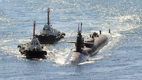 Sottomarino nucleare USS Michigan in Corea del Sud - Sputnik Italia