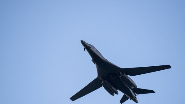 L'aereo bombardiere supersonico Rockwell B-1 Lancer dell'Air Forze Usa - Sputnik Italia
