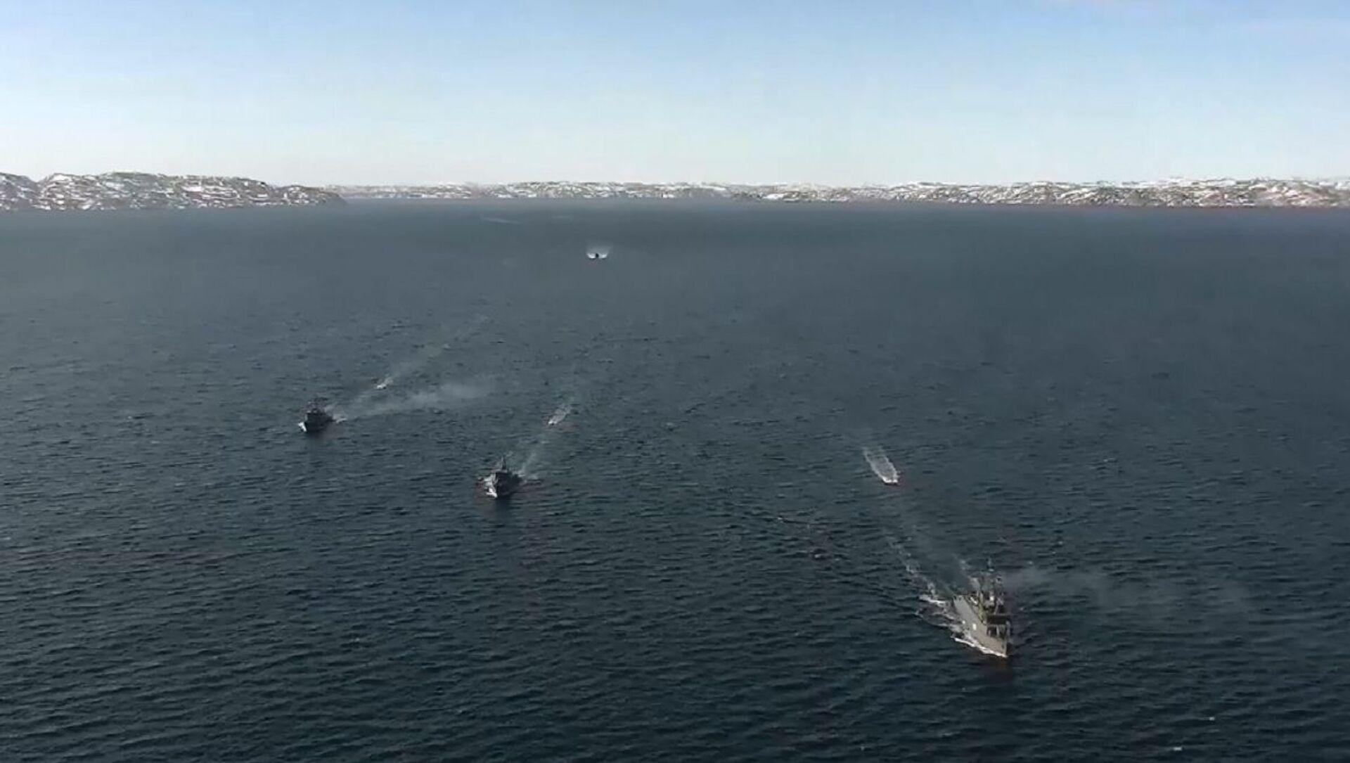 Nella Flotta del Nord della Marina militare russa sono iniziate le esercitazioni del centro di comando - Sputnik Italia, 1920, 20.04.2021