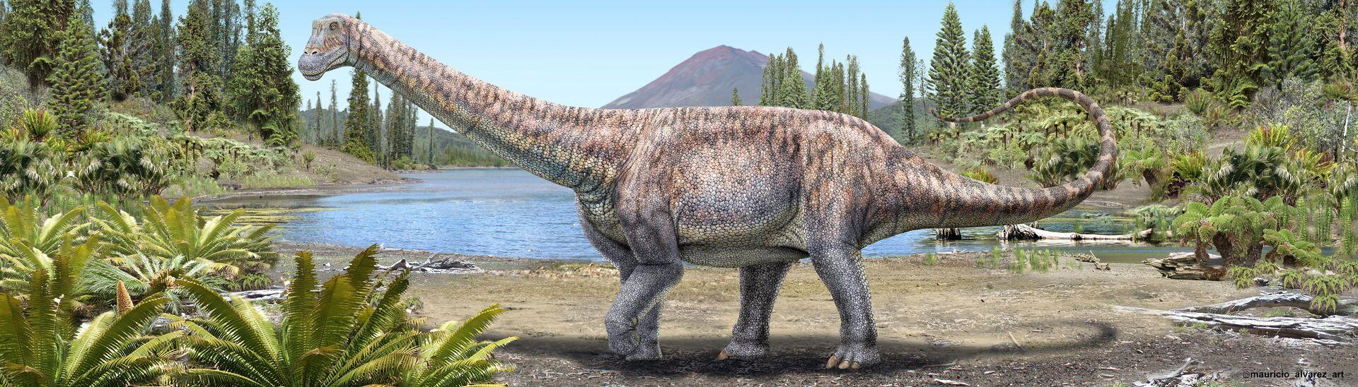 Dinosauro Arackar licanantay - Sputnik Italia, 1920, 18.05.2021