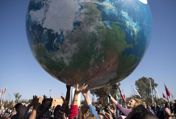 Membri della Conferenza mondiale delle Nazioni Unite sui cambiamenti climatici, il 18 novembre 2016  - Sputnik Italia