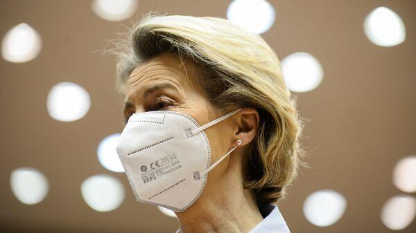 La presidente della Commissione Europea Ursula Von Der Leyen - Sputnik Italia