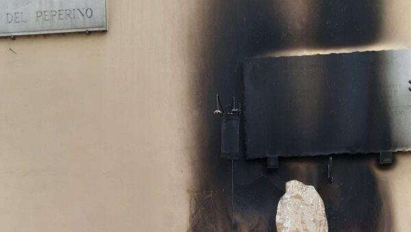 Roma, bruciata la lapide a Pietralata - Sputnik Italia
