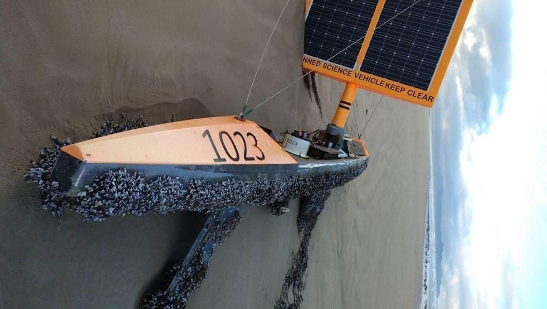 Australia, barca-fantasma - Sputnik Italia, 1920, 28.04.2021