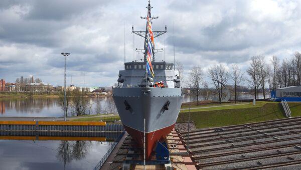 A San Pietroburgo varato il cacciamine Pyotr Ilyichev - Sputnik Italia