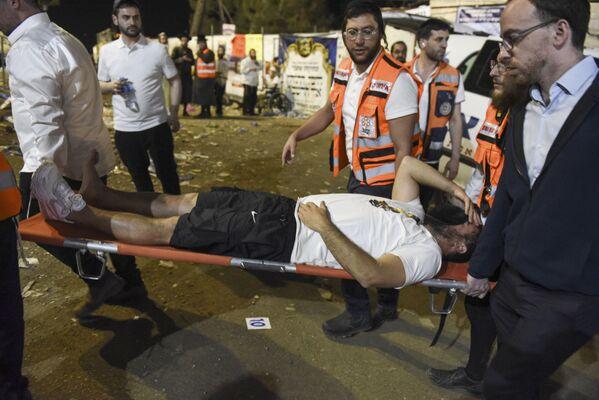 Più tardi, il quotidiano Jerusalem Post ha riferito che il bilancio delle vittime del disastro ha raggiunto 44 persone, con 103 feriti e più di 40 attualmente in condizioni critiche - Sputnik Italia