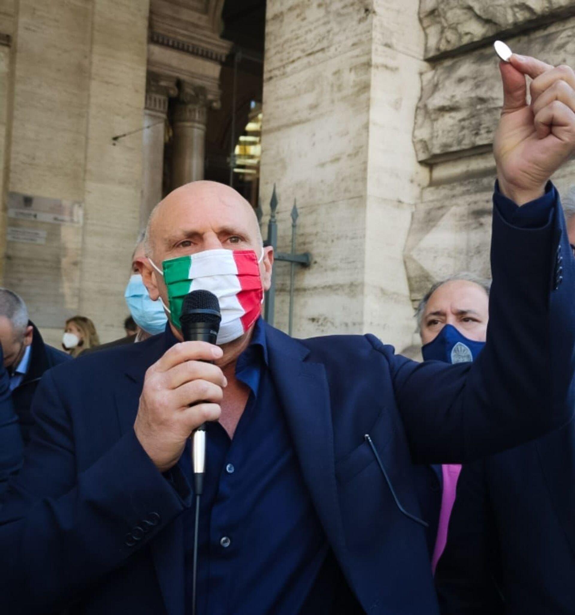 Il vice presidente della Camera Fabio Rampelli (FdI) - Sputnik Italia, 1920, 18.05.2021