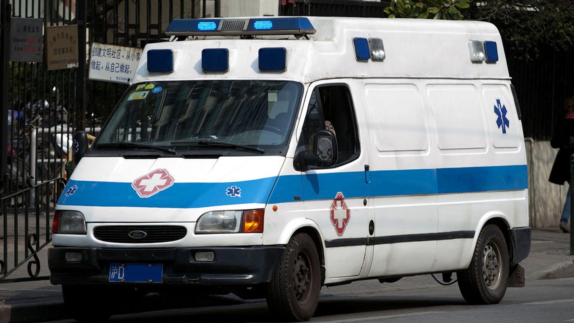 Ambulanza in Cina - Sputnik Italia, 1920, 13.06.2021