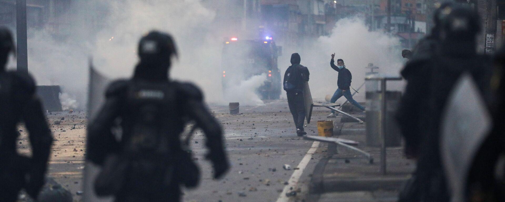 Proteste in Colombia - Sputnik Italia, 1920, 06.05.2021