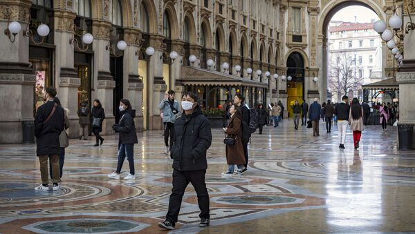 Turisti in Italia - Sputnik Italia